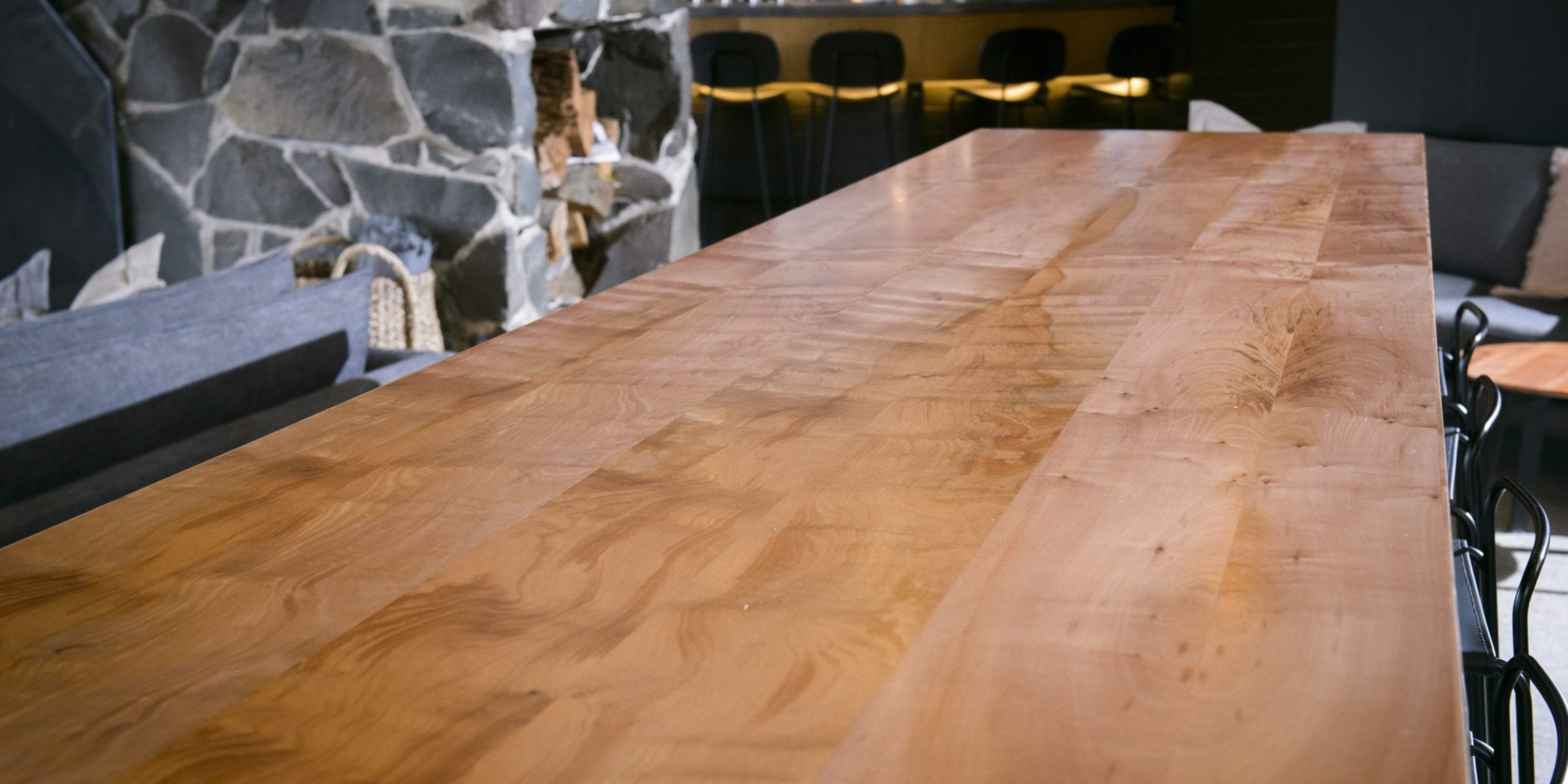 Simon Ancher Table in Reclaimed Myrtle